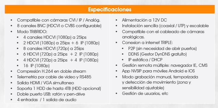 sistemasseguridad-cctv-ixon-digital-novedad-2015-2016-tabla